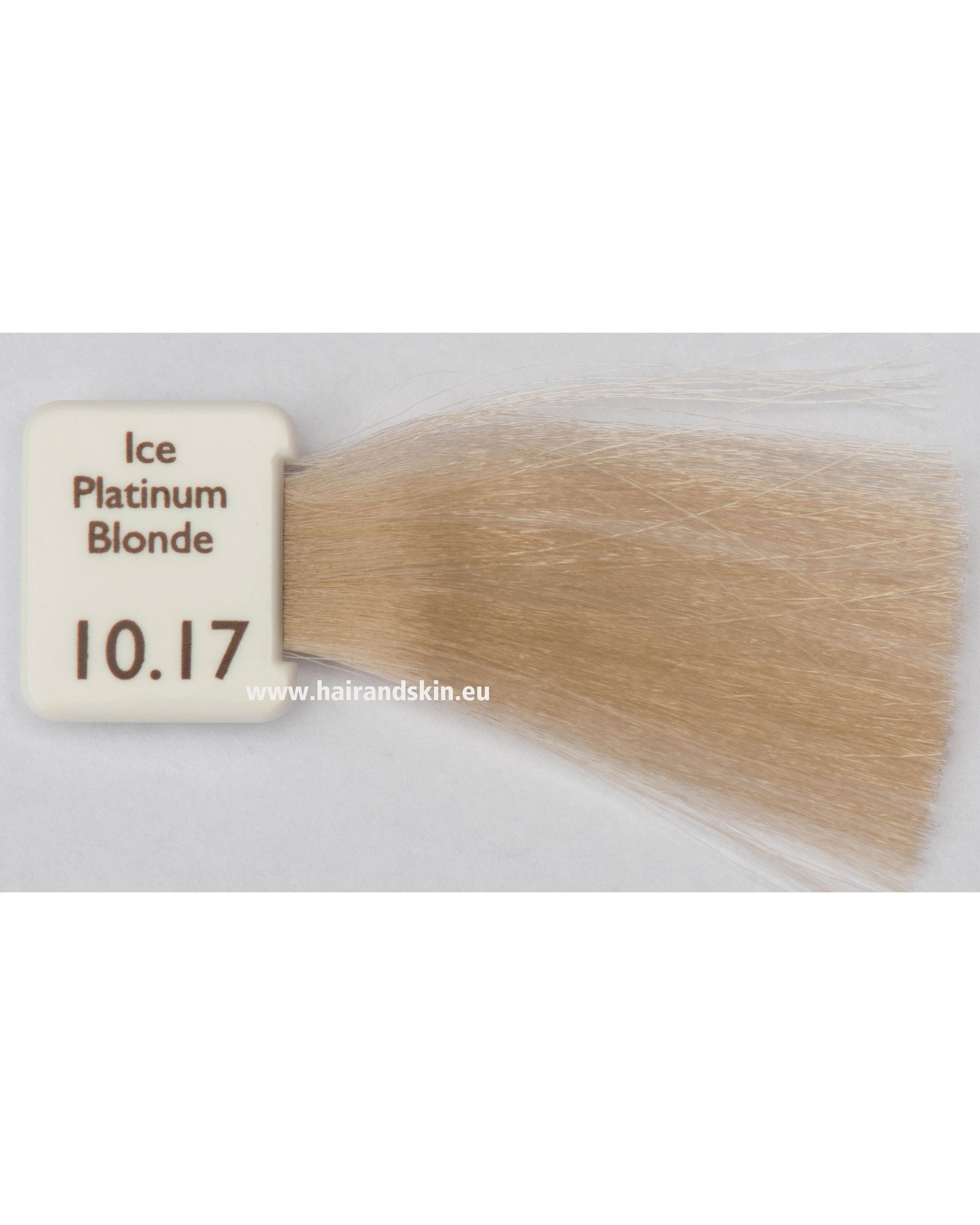 natulique couleur Blond platine glacé – 10.17