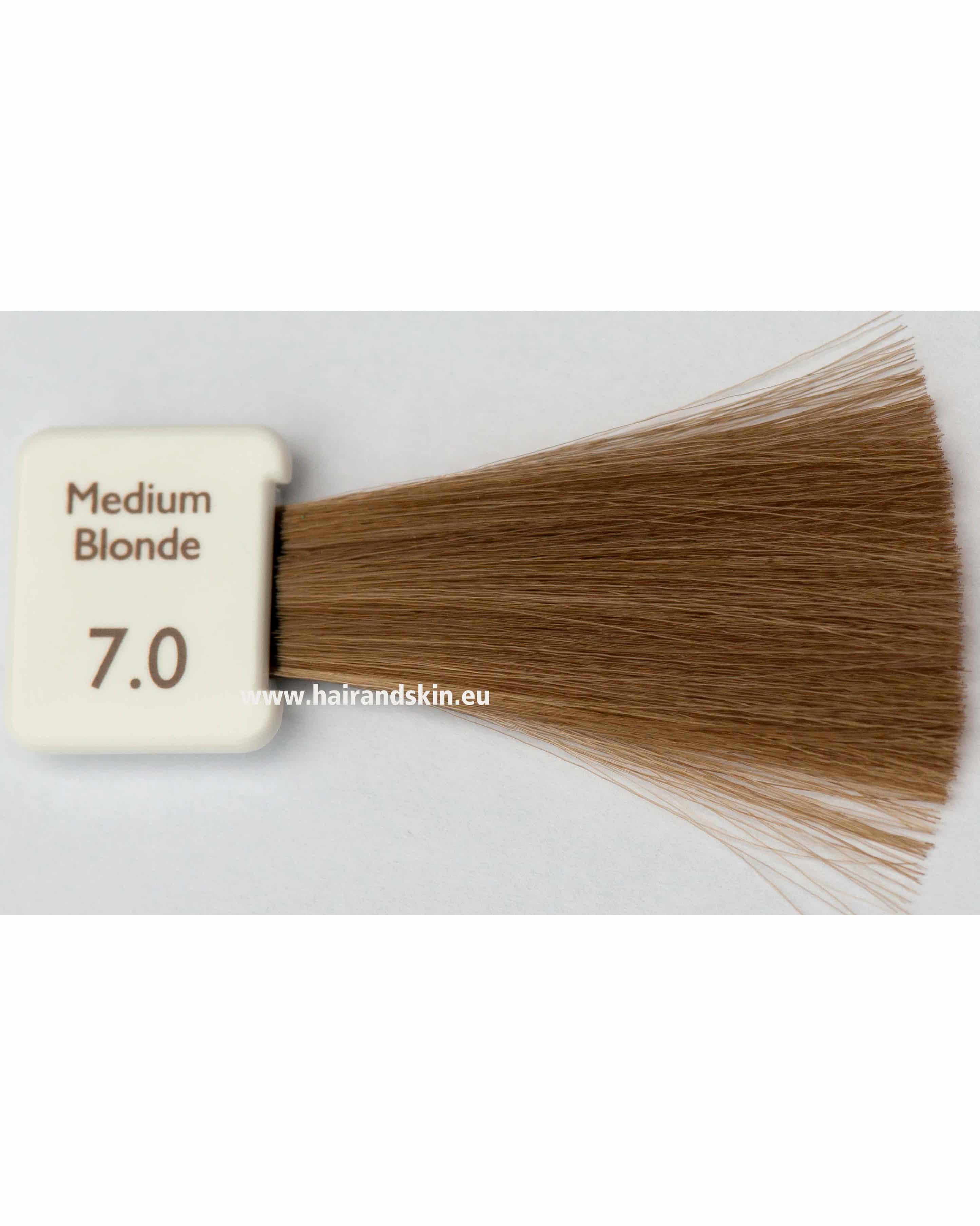 coloration natulique blond moyen 70 crme naturelle couleur cheveux - Coloration Blond Moyen