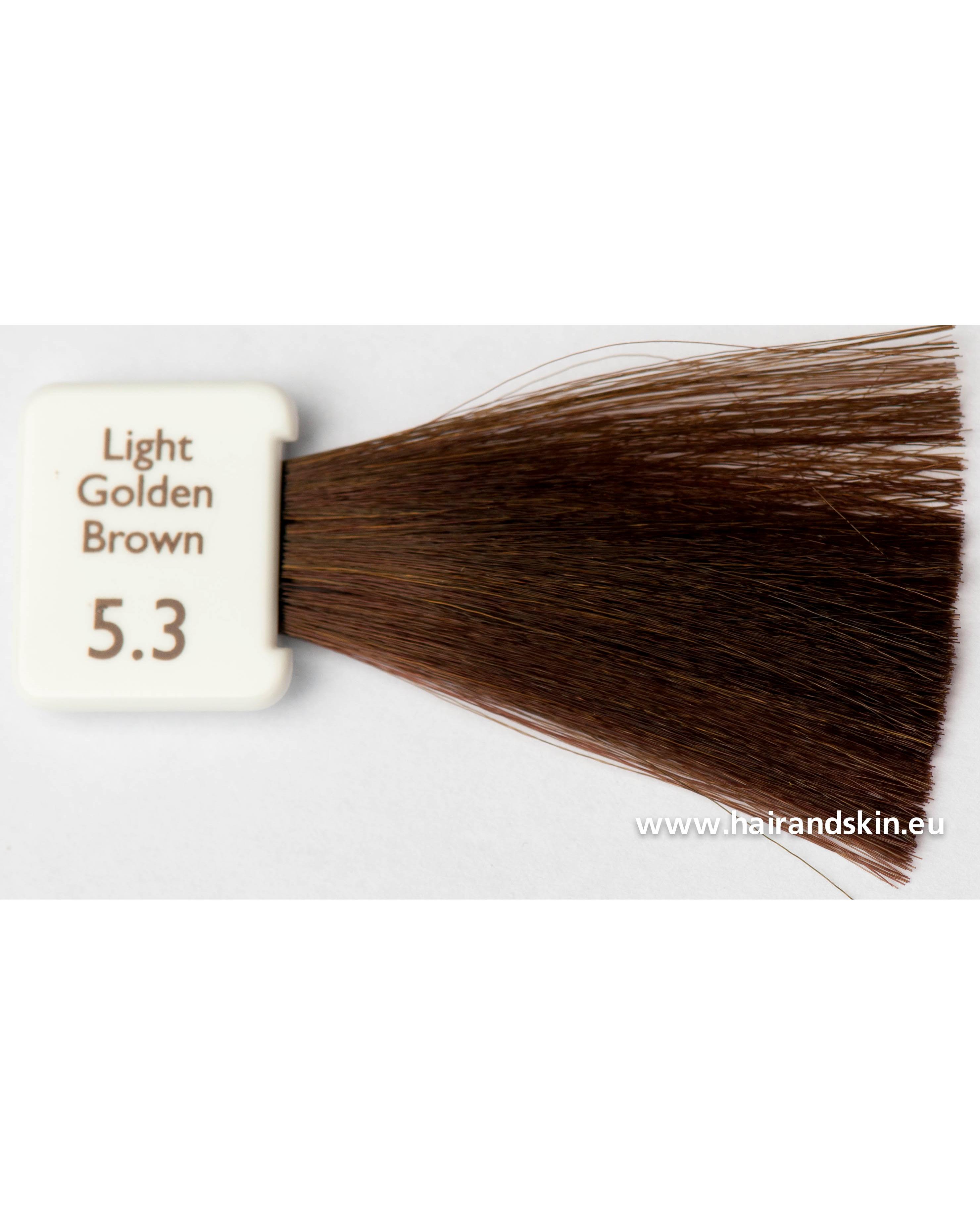 coloration natulique marron clair dor 5 3 cr me naturelle. Black Bedroom Furniture Sets. Home Design Ideas