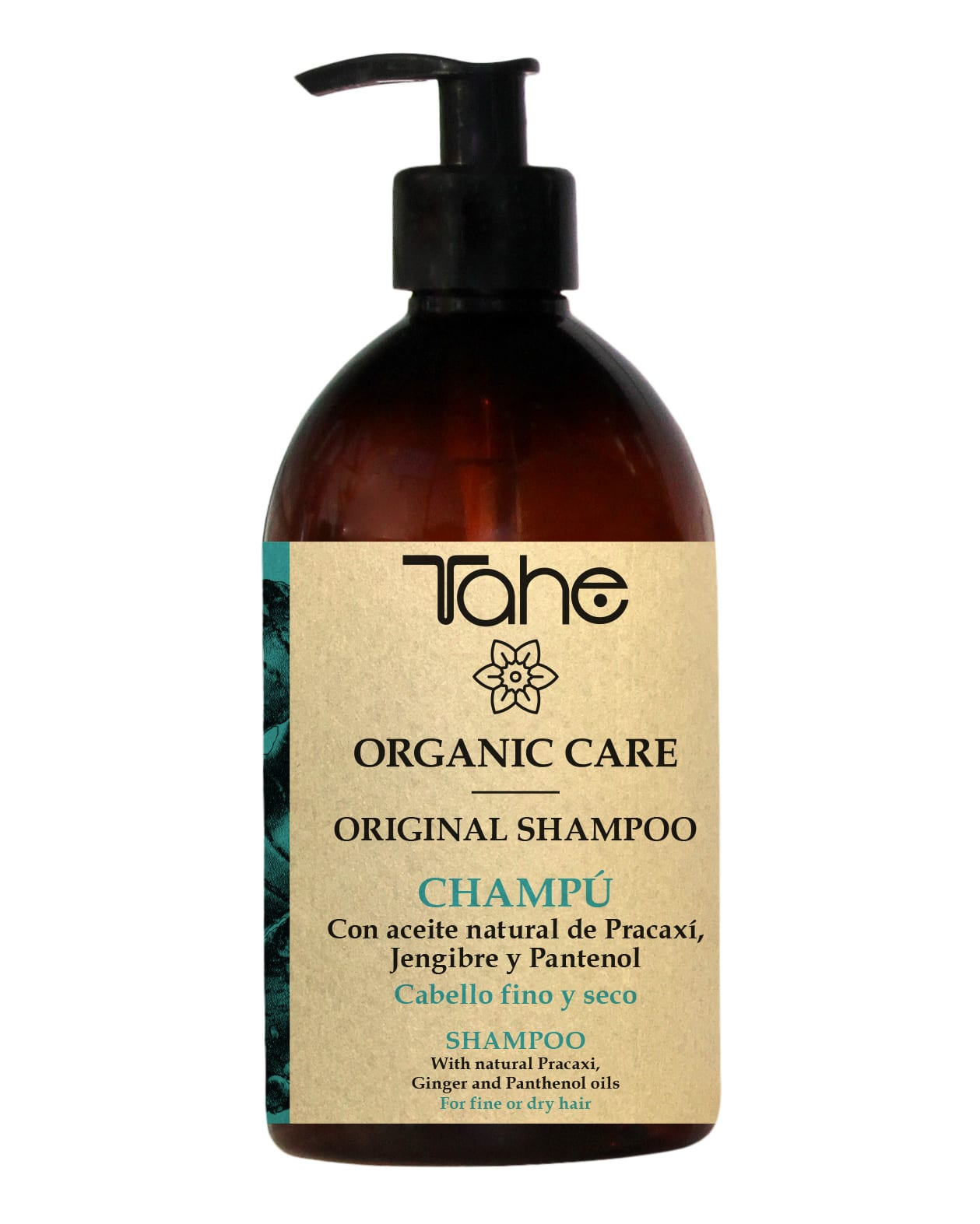 Tahe Organic Care Shampooing Original Oil cheveux fins et secs 500ml
