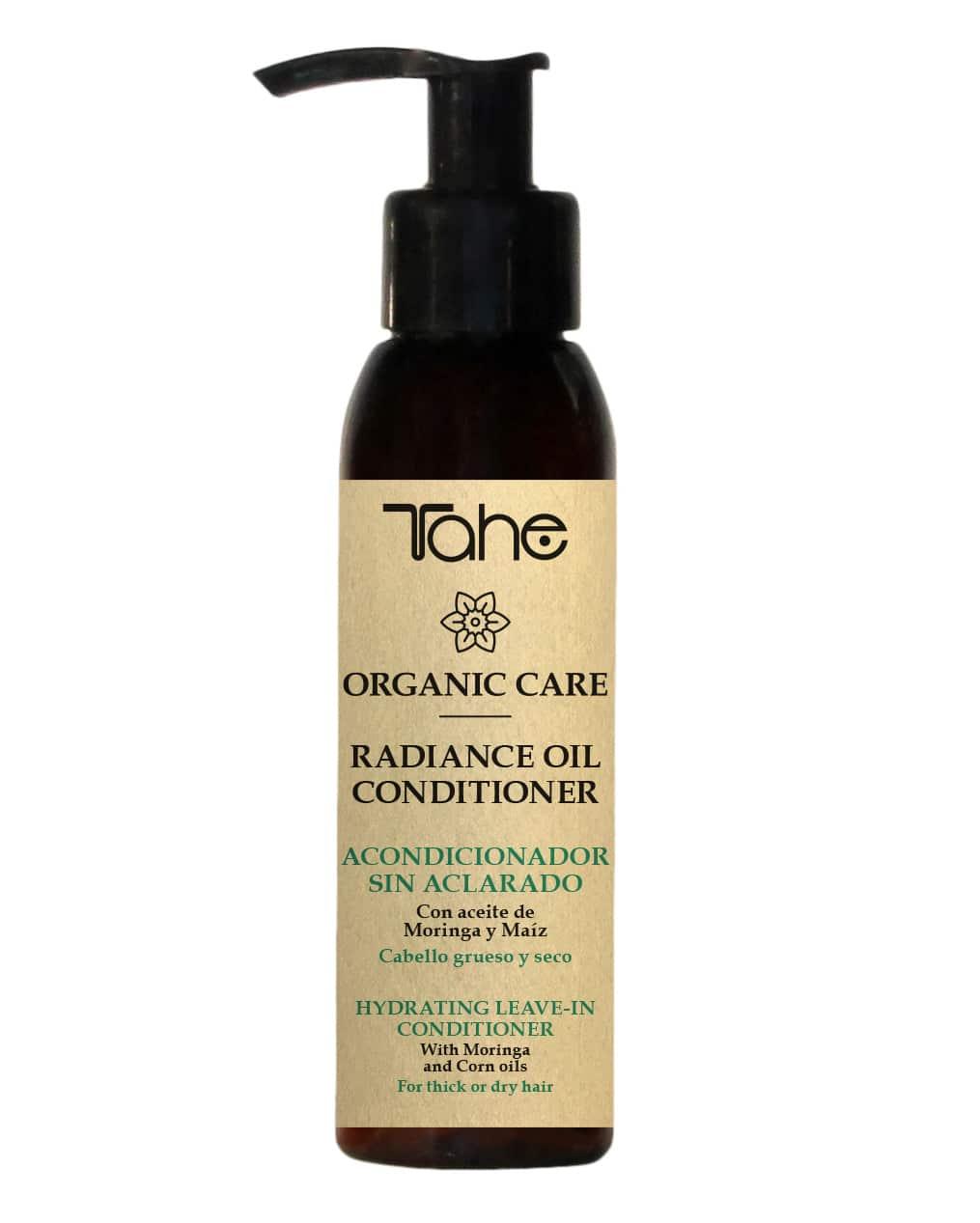 Tahe Organic Care Après-Shampooing Hydratant sans rinçage cheveux épais et secs 100ml