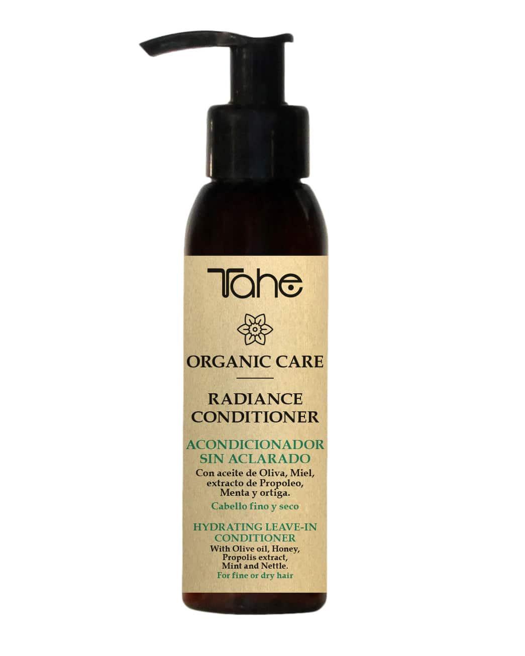 Tahe Organic Care Après-Shampooing Hydratant sans rinçage cheveux fins et secs 100ml
