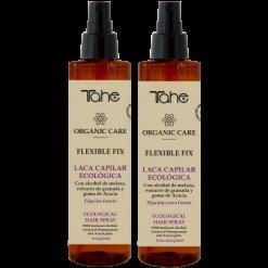 tahé organic laque spray fixation forte