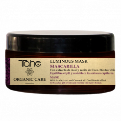 Masque après shampooing Tahé Organic Care effet blond froid Luminous